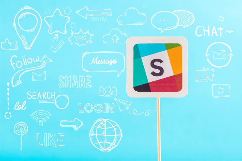 Slack Cloud kommunikation