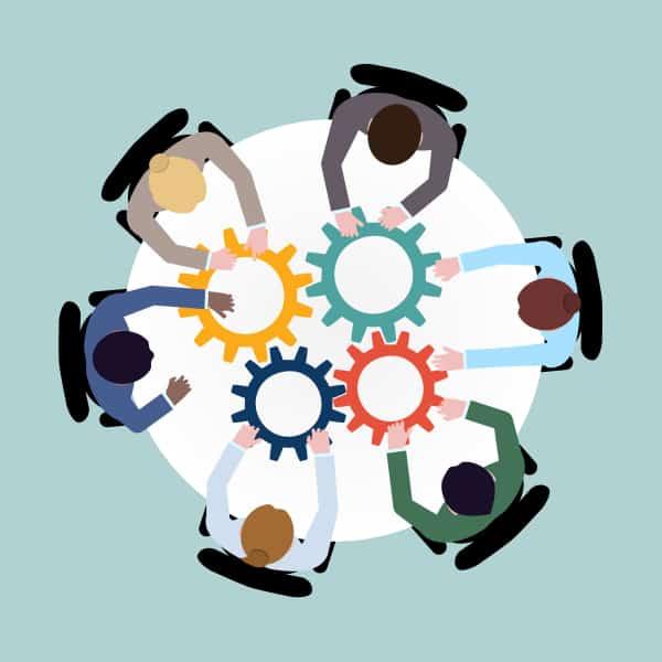 Zusammenarbeit von Unternehmen
